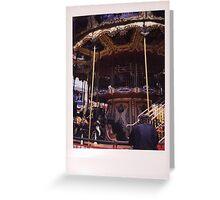Carousel #2 Greeting Card