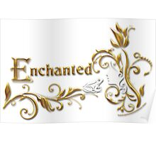 Enchanted - Frog Prince (Silver & Gold) Poster