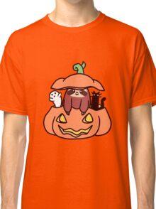 Jack O' Lantern Sloth Classic T-Shirt
