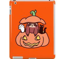 Jack O' Lantern Sloth iPad Case/Skin