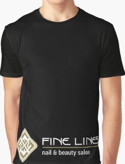 Fine Lines Nail and Beauty Salon Graphic T-Shirt