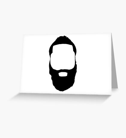 James Harden - Fear the Beard! Greeting Card