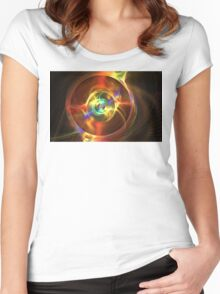 Proxima Centauri 2 Women's Fitted Scoop T-Shirt