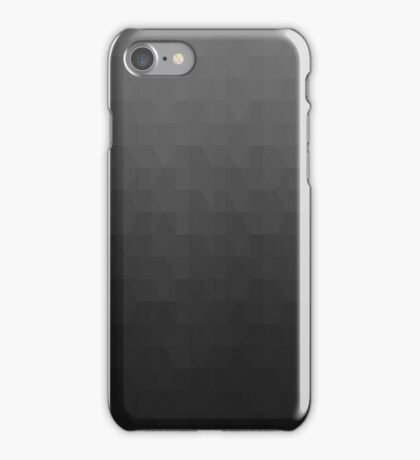 Hexagonal Overlay - Gray iPhone Case/Skin