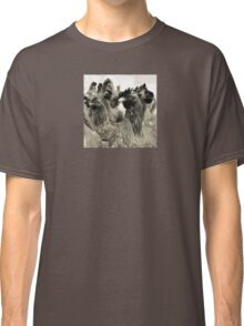 Wetnose Chickens Sepia Classic T-Shirt