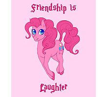 Friendship is Laughter Photographic Print