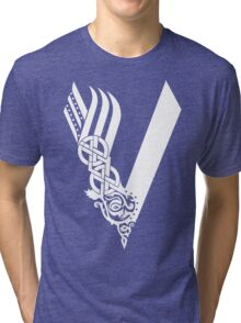Barbas vikings Tri-blend T-Shirt