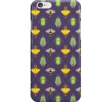 Insecta Geometrica - Geometric Insects Pattern iPhone Case/Skin