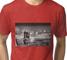 Keiss Castle, Caithness Tri-blend T-Shirt