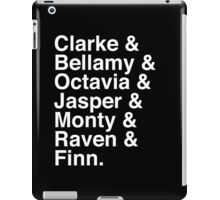 The 100 Team iPad Case/Skin