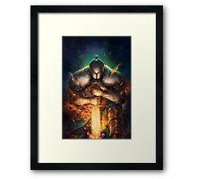 Soul's Knight Framed Print