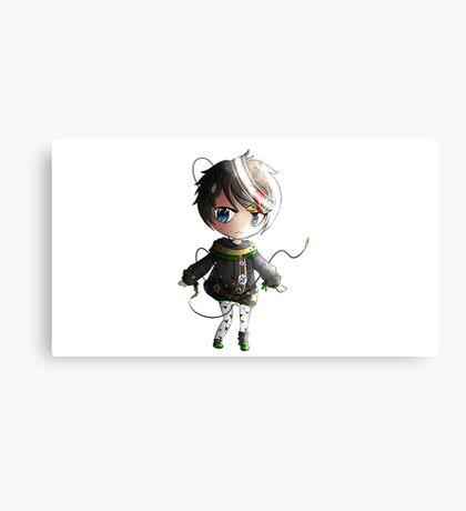 Chibi Playstation Boy Canvas Print