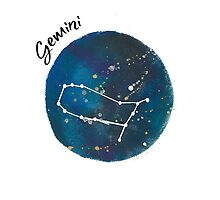 gemini galaxy Photographic Print