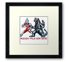 Ready Player One Godzilla Ultra Framed Print