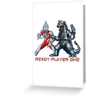 Ready Player One Mech Ultra Greeting Card