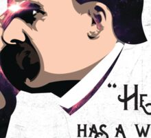 Nietzsche Sticker