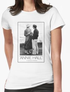 ANNIE HALL - WOODY ALLEN Womens Fitted T-Shirt