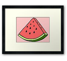 The Watermelon Framed Print