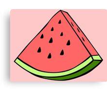 The Watermelon Canvas Print