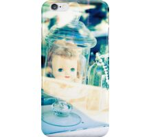 Doll head in a bottle iPhone Case/Skin
