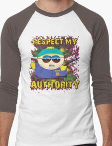 South Park *RESPECT MY AUTHORITY* Men's Baseball ¾ T-Shirt