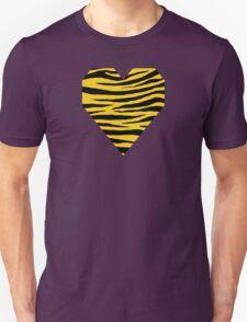 0332 Moon Yellow Tiger Unisex T-Shirt