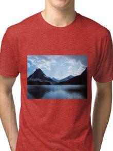 Two Medicine Lake Tri-blend T-Shirt