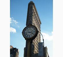 Classic Clock, Flatiron Building, New York Unisex T-Shirt