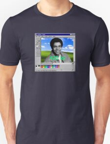 what a bloody fun vaporwave business we got going on here hahahah T-Shirt