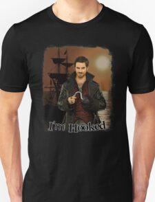 "Captain Hook ""I'm Hooked"" Comic Design Unisex T-Shirt"