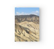 Mountain desert dunes  Hardcover Journal