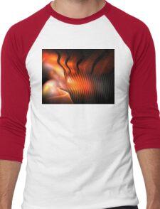 Orange Pupa Men's Baseball ¾ T-Shirt