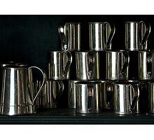The Tin Cup Parade Photographic Print