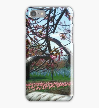 Spring Blooms at Arlington iPhone Case/Skin