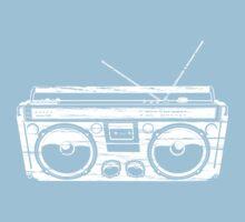 Child of the 1980's Eighties Radio Ga Ga Free Europe  Baby Tee