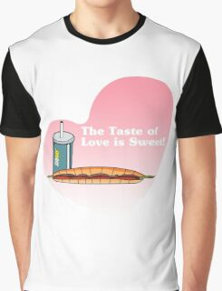 The Taste of Love is Sweet Graphic T-Shirt