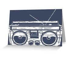 Child of the 1980's Eighties Radio Ga Ga Free Europe  Greeting Card