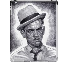 Don't Double Cross The Wise Guy!!! iPad Case/Skin