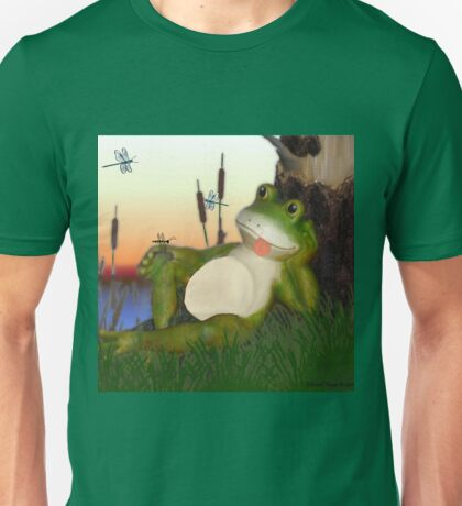 The Frog and the Dragonfly Unisex T-Shirt