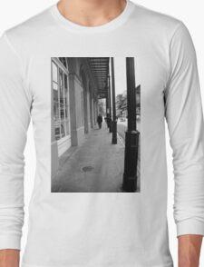 New Orleans Sidewalk Long Sleeve T-Shirt