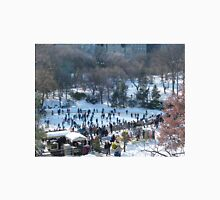 Wollman Rink, Central Park in Snow, New York City T-Shirt