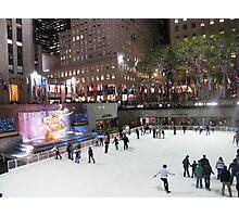 Rockefeller Center Skating Rink Photographic Print