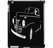 1941 Ford, Black on Black iPad Case/Skin