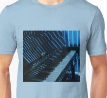 Mood Indigo - Piano Reflections Unisex T-Shirt