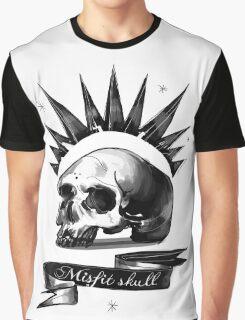 Life is strange Chloe misfit skull Graphic T-Shirt