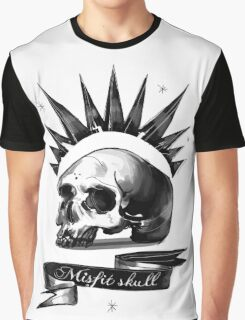 Life is strange Chloe misfit skull Graphic T-Shirt