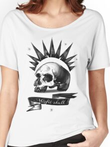 Life is strange Chloe misfit skull Women's Relaxed Fit T-Shirt