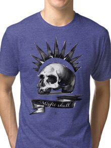 Life is strange Chloe misfit skull Tri-blend T-Shirt