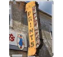 Flemington, NJ - Paint Shop Neon iPad Case/Skin