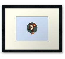 Otter and Watson Framed Print